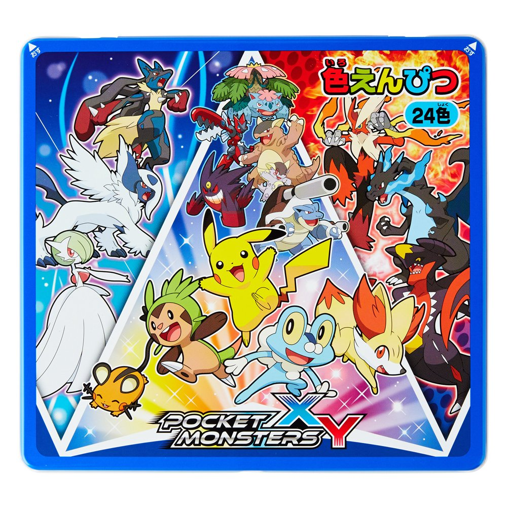 Showa Nota Pokemon XY lápices 24 689 colores 689 24 727 002 b26545