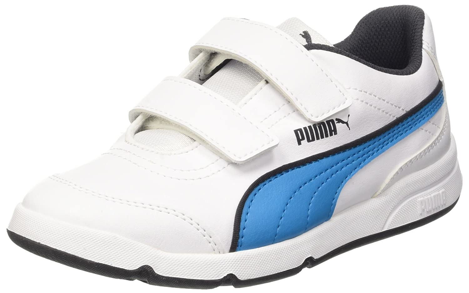 Puma Stepfleex Fs Sl Inf Sneaker V, Color Blanco/Atomic Blue, 4,5