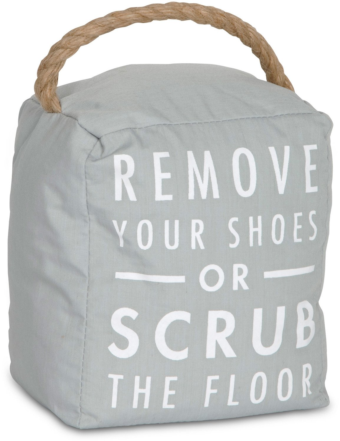 Pavilion Gift Company 72195 Remove Your Shoes Door Stopper, 5 x 6''
