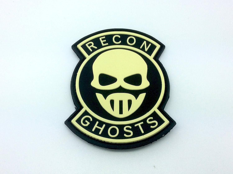 Recon Ghosts Brillan En La Oscuridad PVC Airsoft Parche Patch Nation