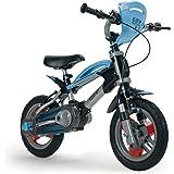 Injusa - Bicicleta Elite 12, color azul (12001)