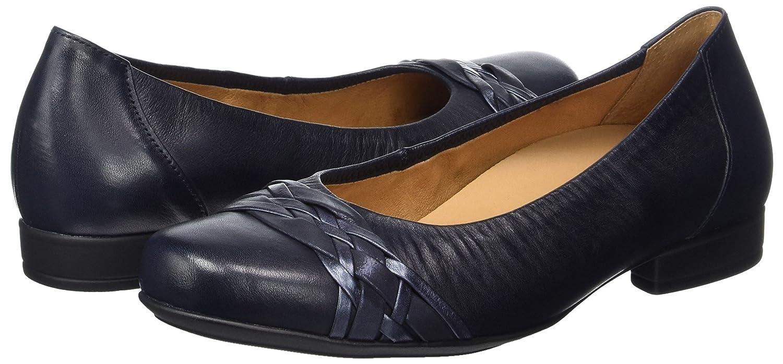 Gabor Ballerinas Damen Comfort Geschlossene Ballerinas Gabor Blau (Navy 85) e305dd
