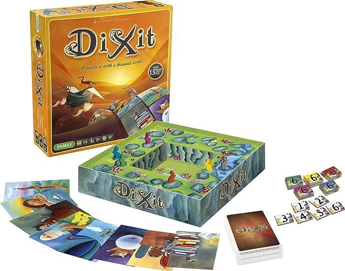 Dixit Juego De Mesa Version Espanola Amazon Es Juguetes Y Juegos