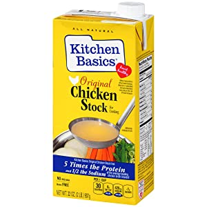 Kitchen Basics Original Chicken Stock, Spice and Herb All Natural Flavoring, 32 oz