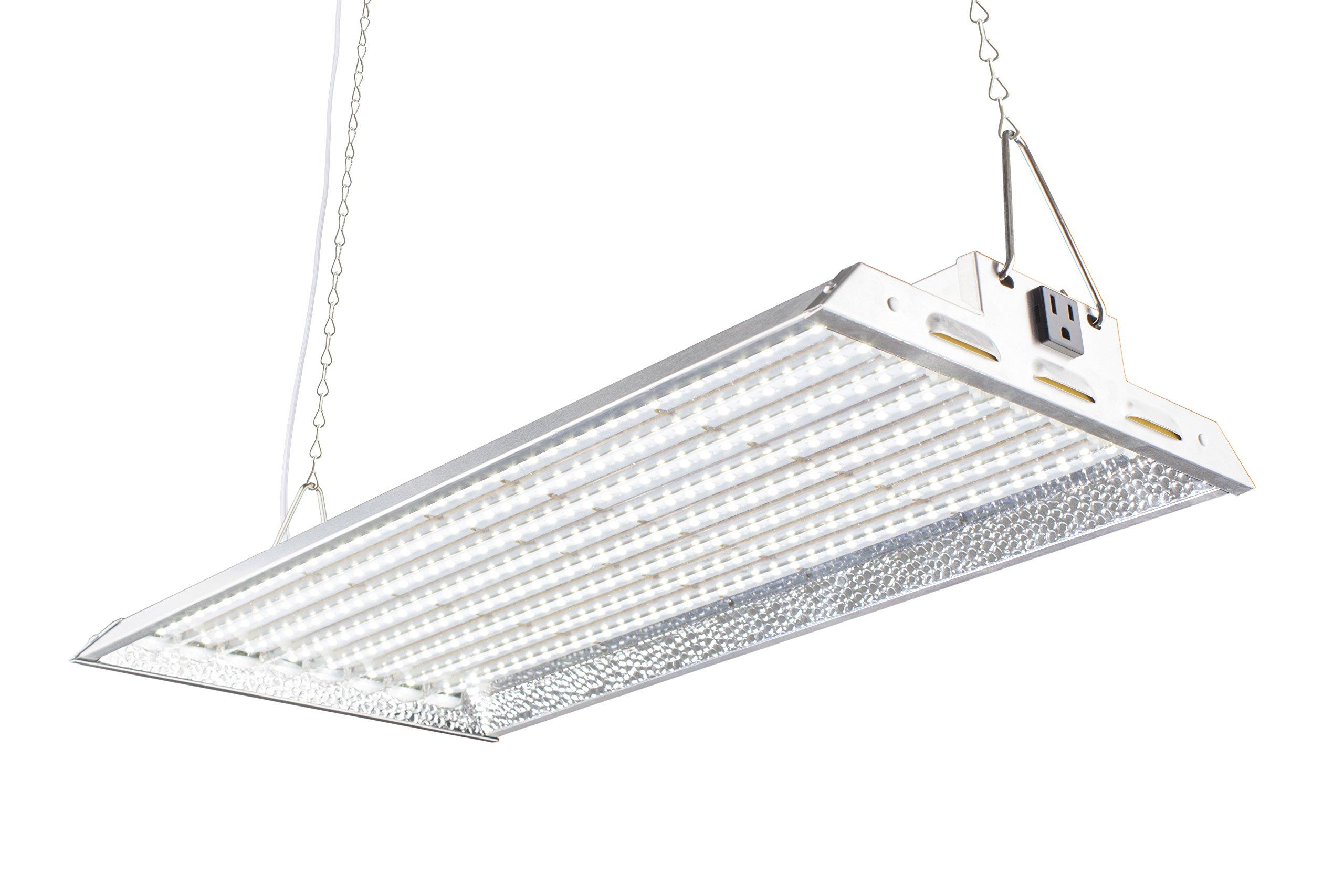 Durolux DLED828W 160W LED Grow Light - Over 50% EnergySaving! (2x1 Foot | 100W, White | FullSun Seed & Veg)