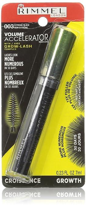 5fa09f90e99 Amazon.com : Rimmel Volume Accelerator Mascara, Black : Lash Accelerator :  Beauty
