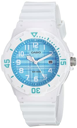 202a156a6a9e Image Unavailable. Image not available for. Color  Casio Women s LRW-200H-2CVCF  Analog Display Quartz White Watch