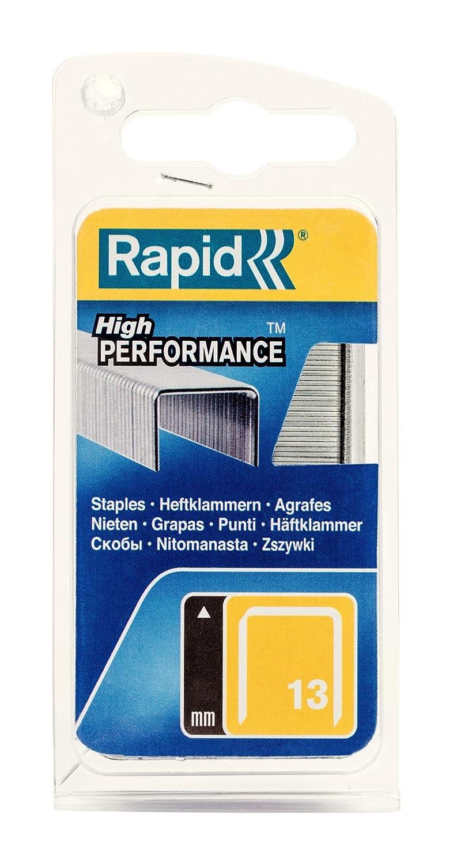 Rapid 40109517 No Acciaio 140 Graffe a Filo Piatto 14 mm