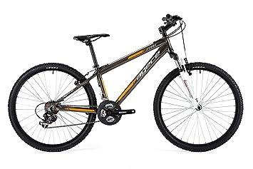 Agece Sierra-24H Bicicleta de montaña, Niños, Negro/Naranja, XS ...