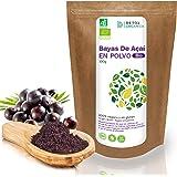 Bayas De Acai En Polvo Orgánico 100 g – Bayas Acai Congelado BIO (Freeze – Dried/Liofilizadas) – Acai Berry Extracto…