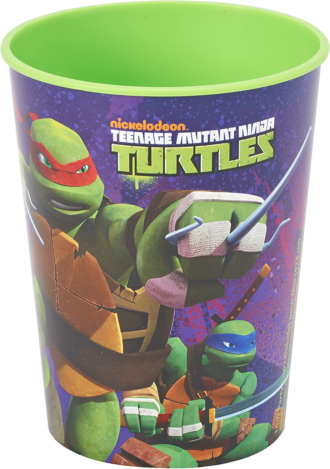 American Greetings Teenage Mutant Ninja Turtles (TMNT) Party Supplies, Plastic Stadium Party Cup (1-Count)