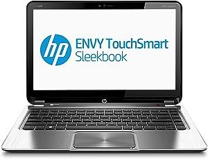 "HP - ENVY Touch-Screen Ultrabook 14"" Laptop - 4GB Memory - 500GB Hard Drive - Midnight Black"