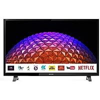 Sharp 2T-C40BG0KO2FB 40 Inch Full HD LED Smart TV with Freeview Play, 3 x HDMI, 2 x USB, Scart, USB Record