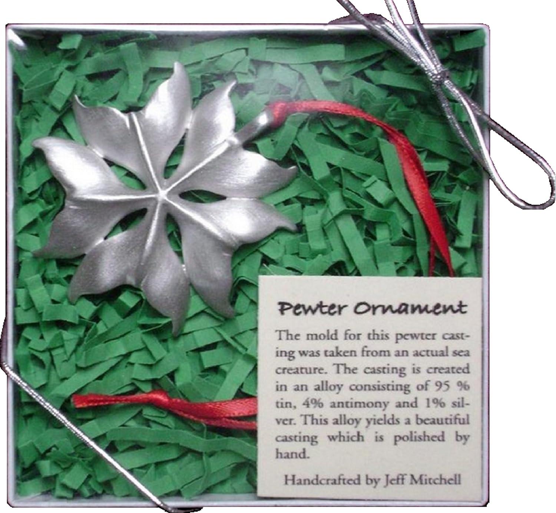 Christmas Ornament Whale Tail Pendant Drummer Cove Design 0037