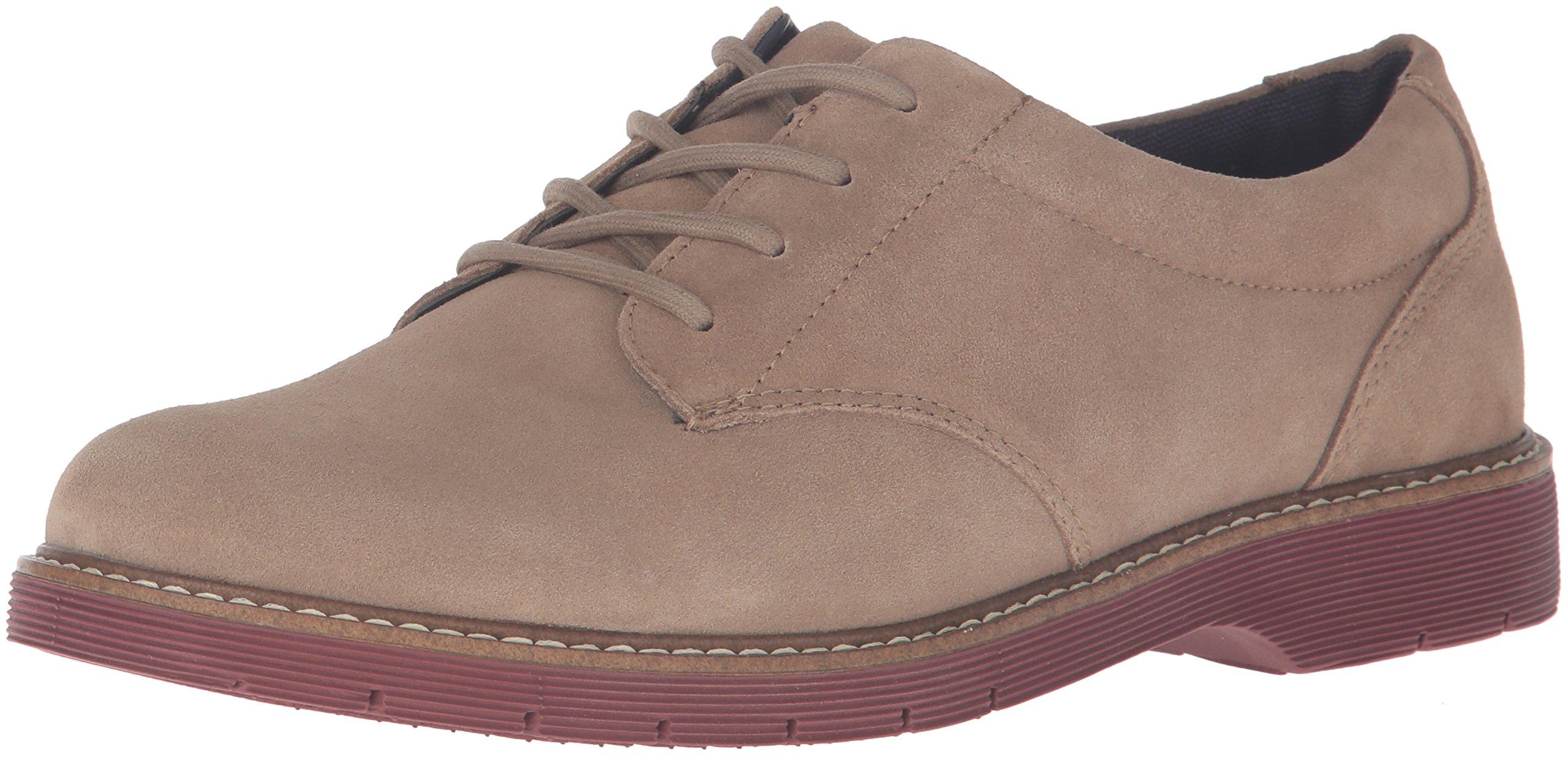 Dr. Scholl's Shoes Men's Razel Oxford, Taupe Suede, 8 M US