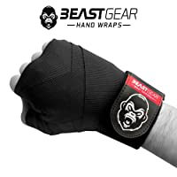 Beast Gear Advanced Boxing Hand Wraps – Superior Quality Hand Wraps for Combat Sports, MMA and Martial Arts ★ 4.5 Meter Elasticated Bandages