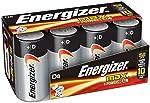 Energizer Max Alkaline, Size D, 8 pack