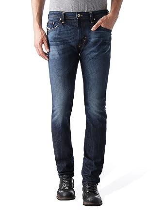 e6199b0f Amazon.com: Diesel Thavar' Skinny Fit Jeans U831Q (Blue/Denim, 26W x ...