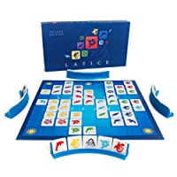 Latice Deluxe Strategy Board Game - New Edition - the Popular New Family Board Game for Kids and Adults, Challenging Fun for Everyone