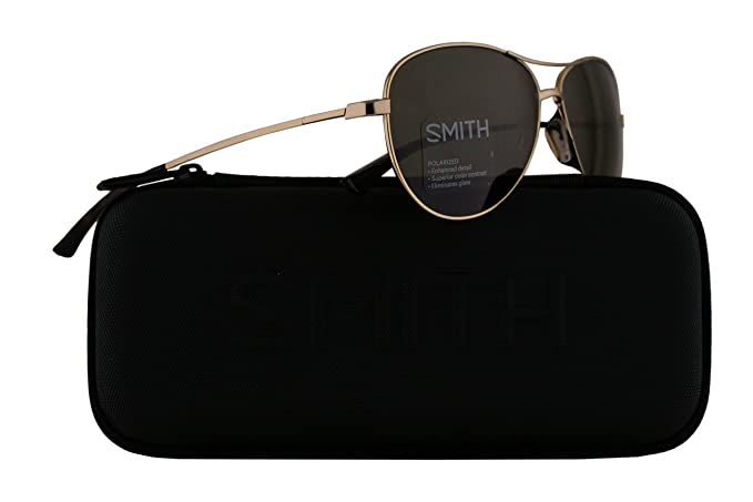 381c25b833 Image Unavailable. Image not available for. Colour  Smith Langley  Sunglasses Gold w ChromaPop Polarized Grey Green Lens 60mm J5G Langley S