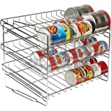 Amazon Com Simplehouseware Stackable Can Rack Organizer