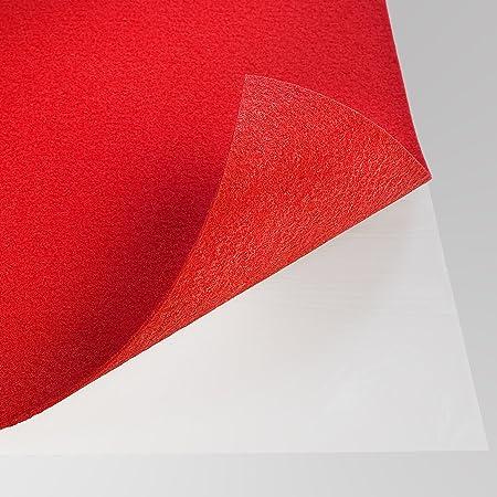 Taille:4 m/² Couleur:Rot andiamo Dalles de Moquette Auto-Adh/ésif Tapis Rev/êtement de Sol Feutrage /à Laiguille Carreau 40 x 40 cm Ensemble