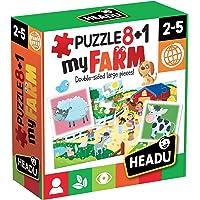 Headu Headu-IT20867 1041741-My Farm-Juego Puzzle Infantil Educativo Mundo