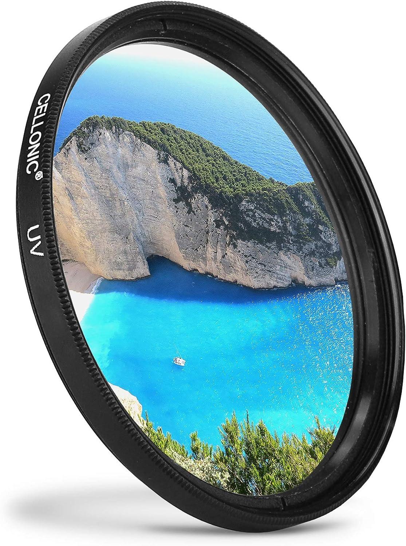 Schutzfilter Cellonic UV Filter kompatibel mit Sigma 10-20mm F3.5 100-300mm F4 20mm F1.8 24-105mm F4 24-70mm F2.8 /Ø 82mm