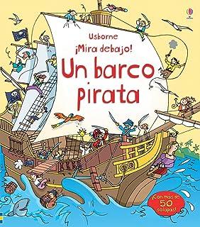 El barco pirata mira debajo