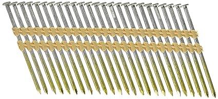 Nailers & Staple Guns Tools & Workshop Equipment 3-1/4 x .131 inch Framing Nail Gun Nailer 1000 Hot Galvanized Nails 30 Degree