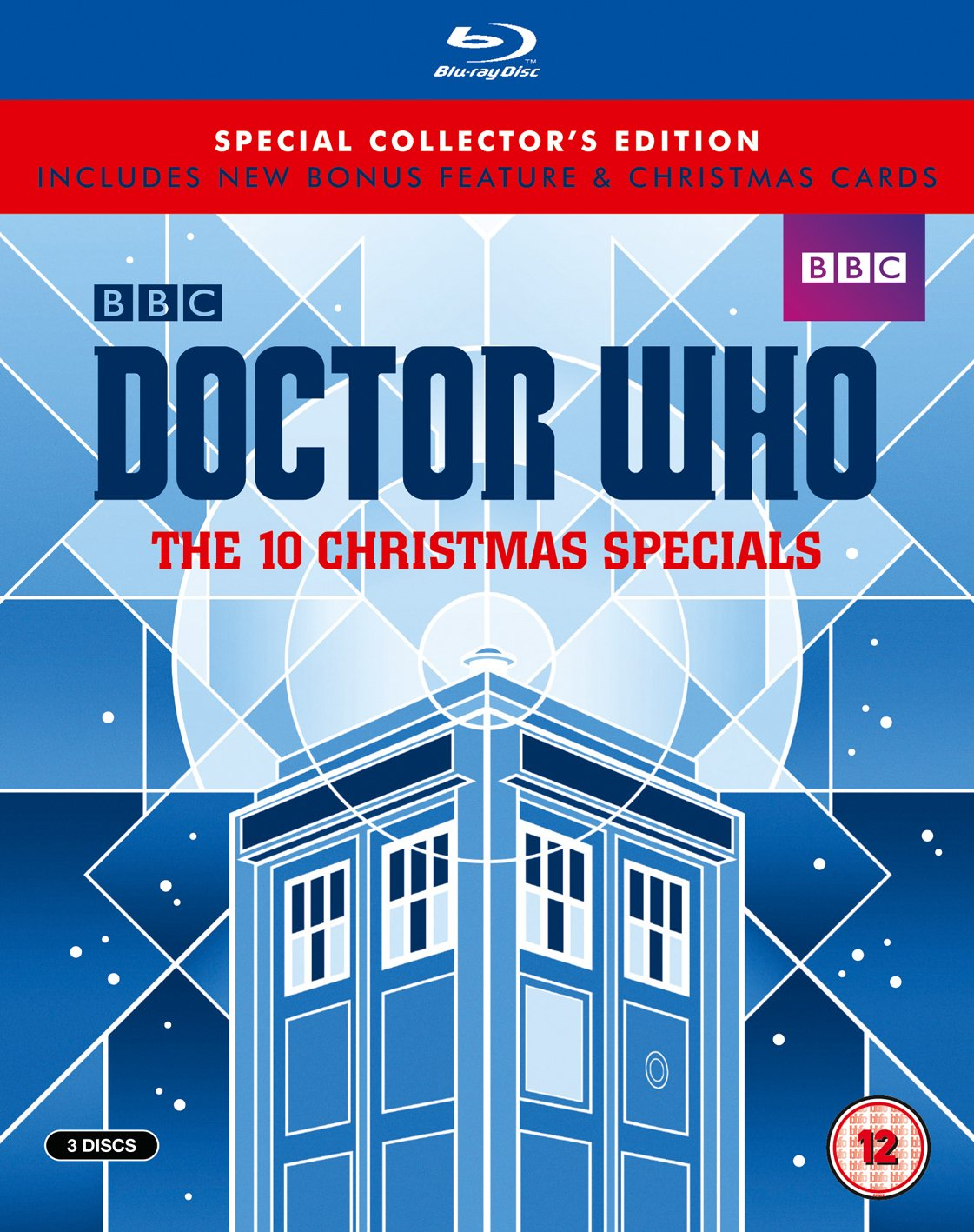 Doctor who the 10 christmas specials limited edition blu ray amazon co uk david tennant matt smith peter capaldi jenna louise coleman nick frost
