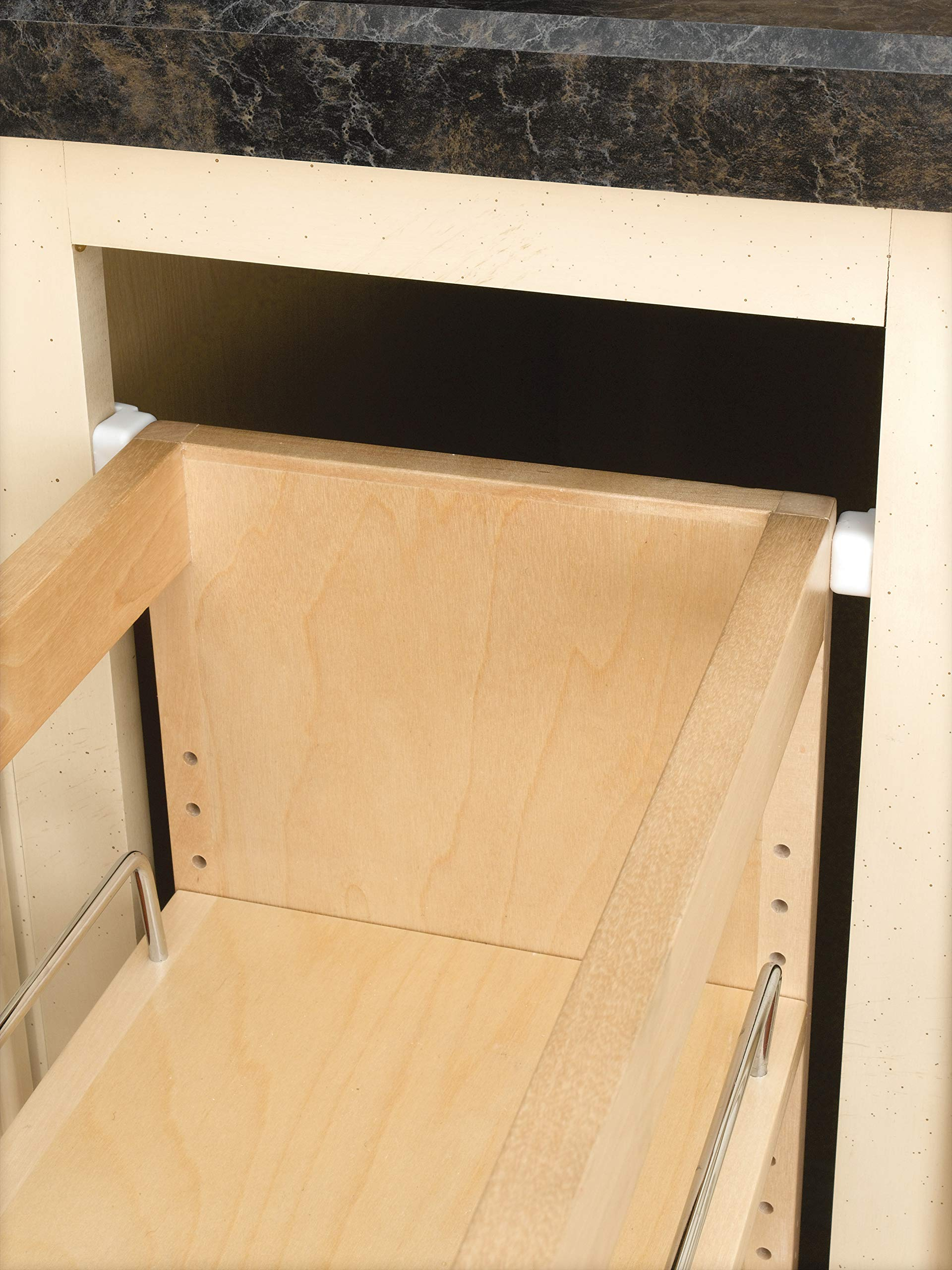Rev-A-Shelf - 448-BC-5C - 5 in. Pull-Out Wood Base Cabinet Organizer by Rev-A-Shelf (Image #4)
