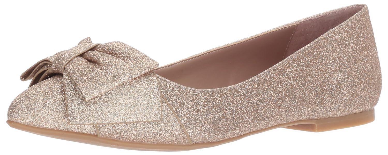 Betsey Johnson Women's Cindi Pointed Toe Flat B072MSG4BJ 7 B(M) US|Champagne Glitter