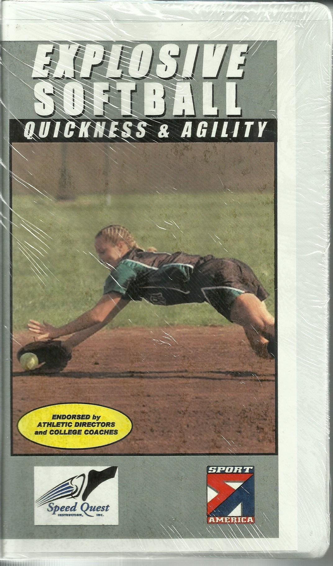 Explosive Softball:  Quickness & Agility [VHS]