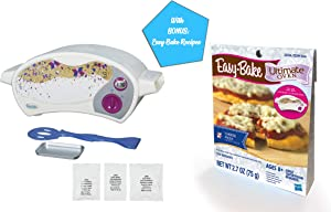 Easy Bake Ultimate Oven Gift Bundles for Boys and Girls, Little Chef Gifts, Birthday Gift Ideas for Kids, Holiday Presents (Oven + PIzza Mix)