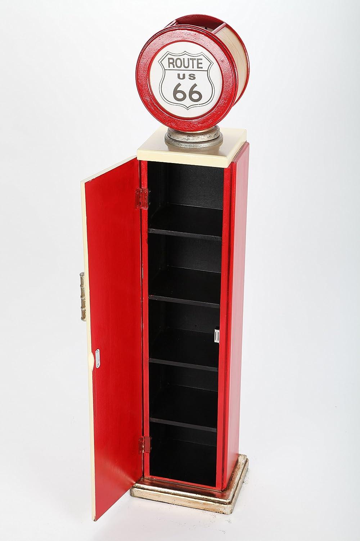 point-home – Estantería para CD con luz, diseño de surtidor de Gasolina Retro: Amazon.es: Hogar