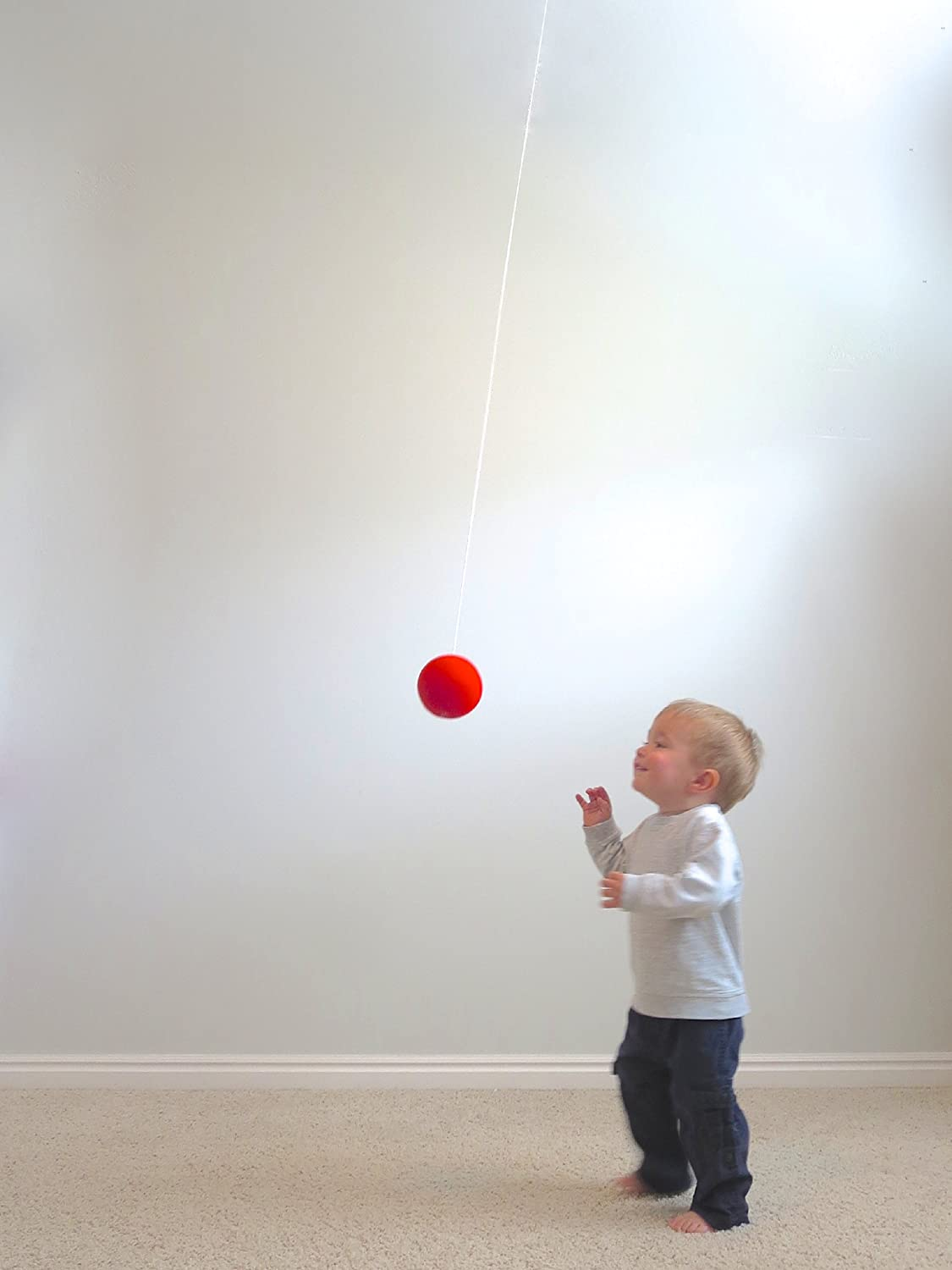 Nightzone light up rebound ball - Amazon Com Flyball A Hanging 4 Foam Ball On An Elastic String Musical Instruments