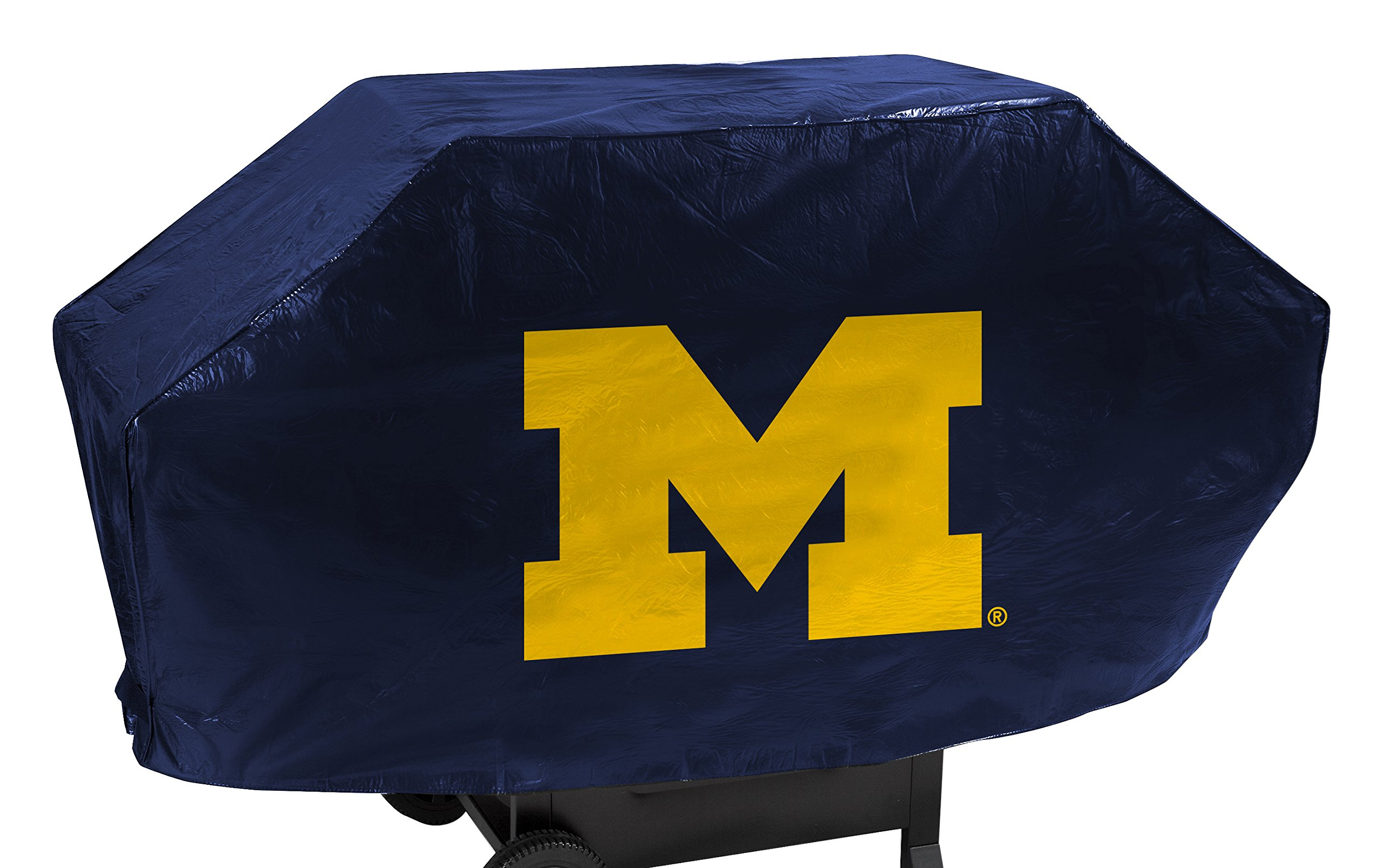 NCAA Michigan Wolverines Deluxe Grill Cover