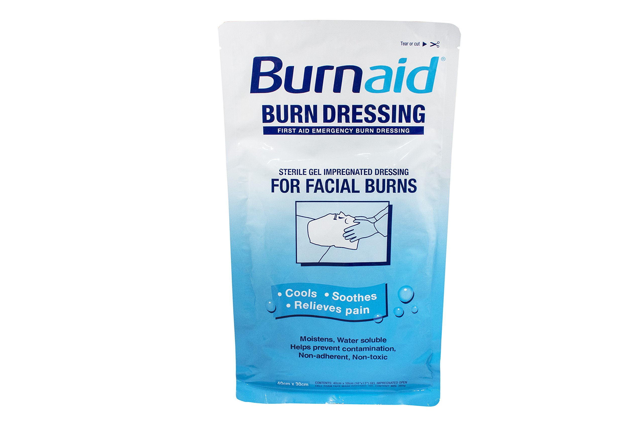 Dukal BBD-1 Burn Aid, Dressing, Sterile, 1.2 m x 2 m