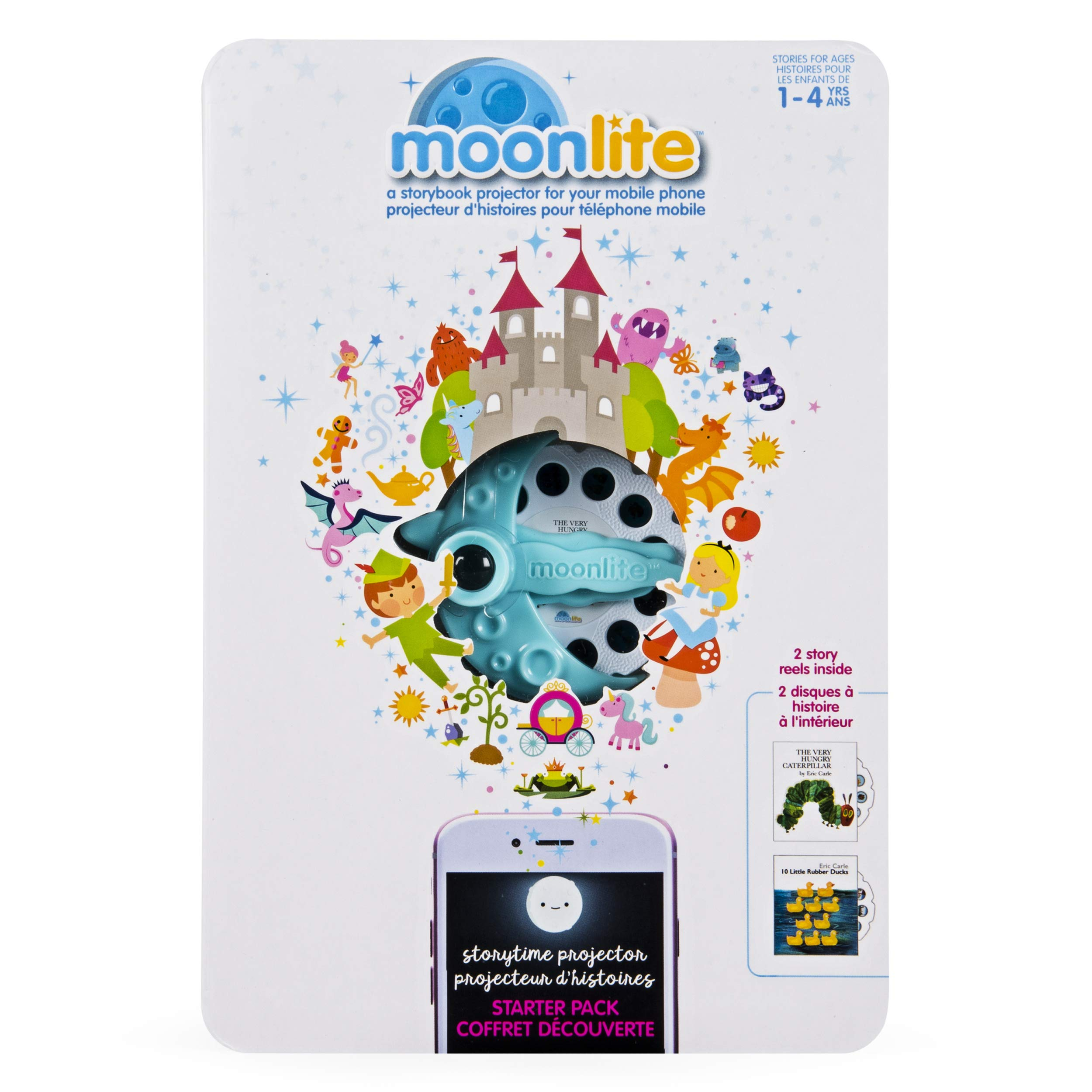 Moonlite - Eric Carle Junior Starter Pack, Storybook Projector for Smartphones with 2 Story Reels, For Ages 1 and Up by Moonlite (Image #5)