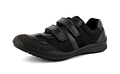 6f72494bf607e Image Unavailable. Image not available for. Colour  FeetScience Unisex Black  School Shoes Champion 100