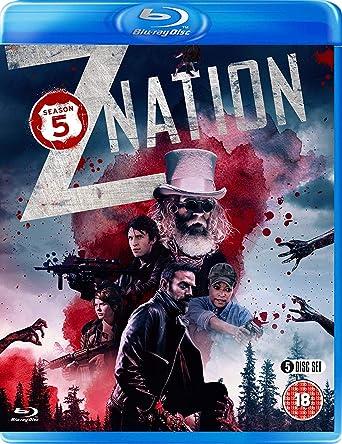 Amazoncom Z Nation Season 5 Blu Ray Russell Hodgkinson Nat