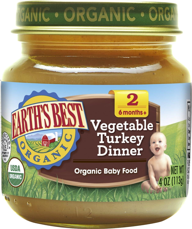 Earth's Best, Vegetable Turkey Dinner, 4 oz