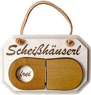 Toilette Kloschild Schild Türschild Scheißhäusl Frei Oder Besetzt