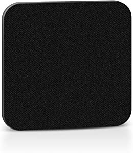 Webcam Cover Black 6 Pack, NanoTech Reusable Adhesive Protection and Security for Laptops, Smartphones, Tablets, Desktop - Works Safely on Any Electronics Surface - Protect Your Privacy