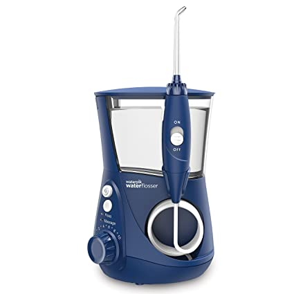 Waterpik WP-663EU - Irrigador bucal eléctrico, color azul