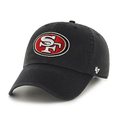 41c5c405d40 Amazon.com   NFL San Francisco 49ers Men s Clean Up Cap