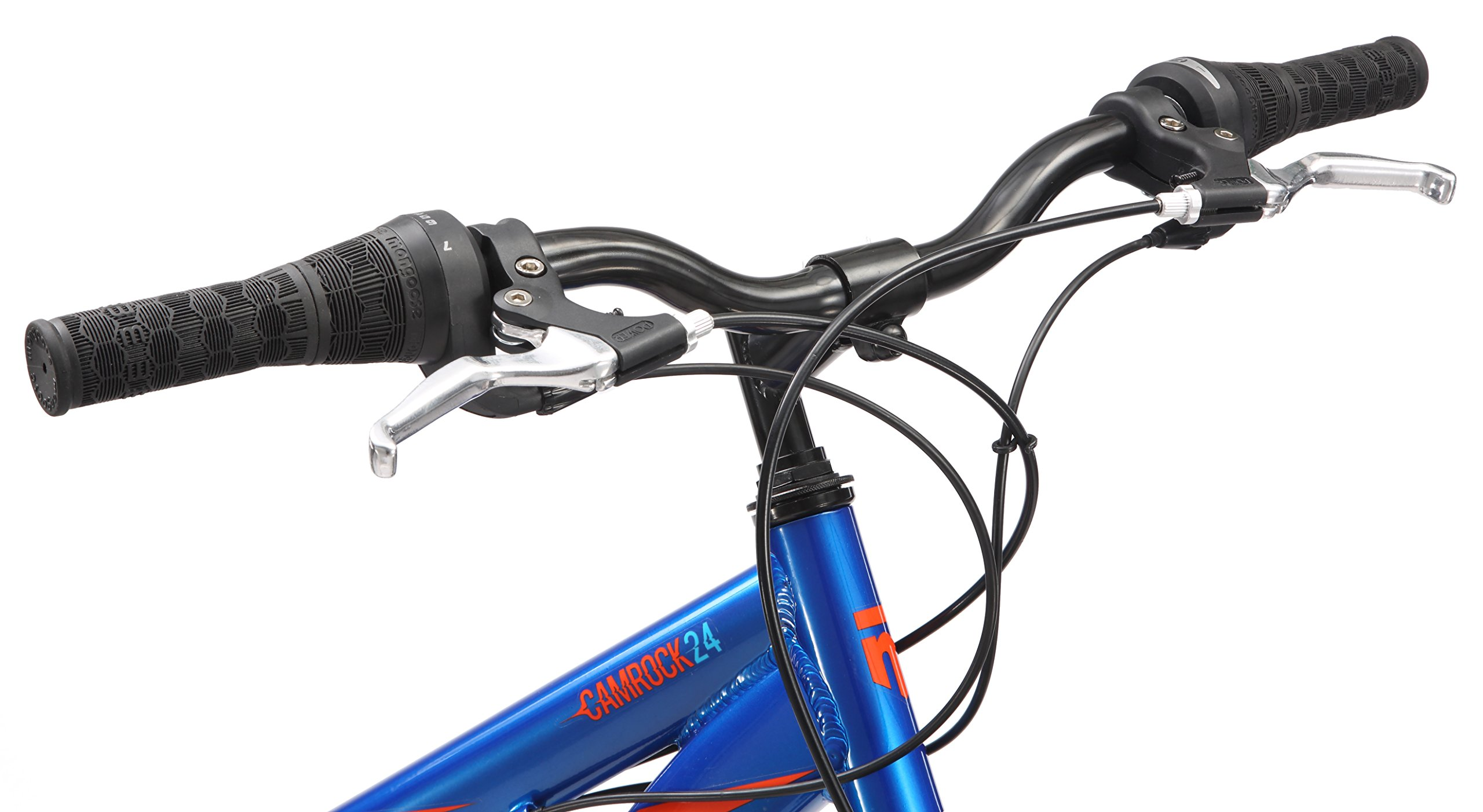 Mongoose Camrock 24'' Wheel Mountain Bicycle, Blue, One Size by Mongoose (Image #4)