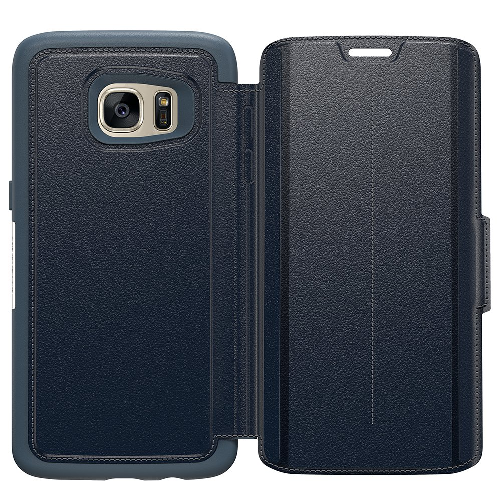 OtterBox STRADA SERIES Case for Samsung Galaxy S7 Edge - Retail Packaging - Tempest Night by OtterBox (Image #1)