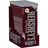 HERSHEY'S Milk Chocolate Bulk Candy, Individually Wrapped, 4.4 oz XL Bars (12 Count)